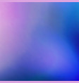abstract background blur of pink and blue colors vector image vector image