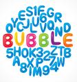 alphabet set 07 vector image