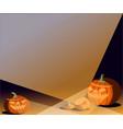 frame hallowee for celebration decoration vector image