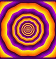hypnotic polygones vector image vector image