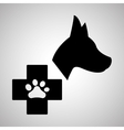 Pet shop design animal icon care concept vector image