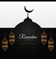 ramadan kareem awesome design background vector image vector image