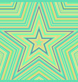 star abstract background vector image vector image