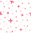 stars pattern seamless background with vector image