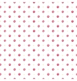 Stylish polka dot vector image