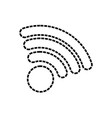 wifi sign illuatratio vector image