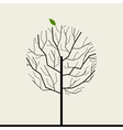 Wood tree vector image vector image