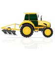 tractor 07 vector image