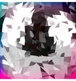 Abstract polygonal background for design vector image