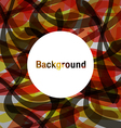abstract background colorful Feeling hot vector image vector image