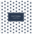 cute flower shape pattern background vector image vector image
