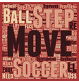 How To Step By Step Soccer Moves text background vector image vector image