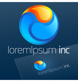 Logotype for Business Media Tourism vector image vector image