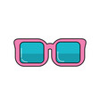 optical glasses to can see better vector image vector image