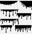 paint dripping dripping liquid vector image
