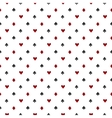 Poker or casino seamless pattern vector image vector image