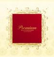 royal premium luxury background card design vector image vector image