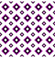 seamless geometrical square pattern design vector image vector image