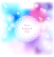 Spring abstract background with copyspace for your vector image