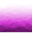 Abstract Gradient Purple Geometric Background vector image vector image