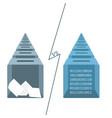 blockchain online voting concept vector image