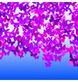 butterfly sky vector image vector image