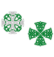 Celtic crosses vector | Price: 1 Credit (USD $1)