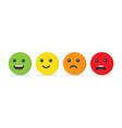 emotion balls icon vector image vector image