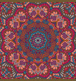 flower ethnic seamless design vector image
