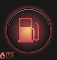 gas station symbol gas station Gasoline and fuel vector image