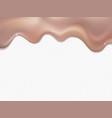 gold rose foil drip pattern vector image