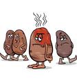 hot potato saying cartoon vector image vector image