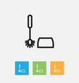 of cleanup symbol on sanitary vector image vector image