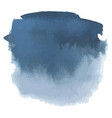 blue gray watercolor hand drawn gradient banner vector image vector image