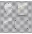Glass Frame Set vector image