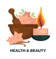 health and beauty promotional poster