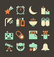 Icons deep sleep vector image