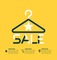 poster the best sales vector image