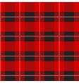 Red Tartan Plaid Pattern vector image vector image