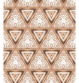 1930s Art deco geometric pattern with triangles