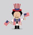 American Man vector image vector image