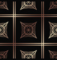 art deco seamless pattern vector image vector image