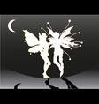 Butterflyman vector image