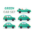 city cars set vector image vector image