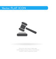 hammer icon for web business finance and vector image vector image