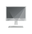 Monitor screen icon abstract vector image