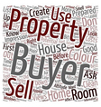 Sell a house in the first 60 seconds text vector image vector image