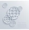 modern earth background Eps 10 vector image