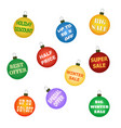 Christmas balls with promotional offers