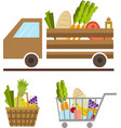 food-truck image vector image vector image
